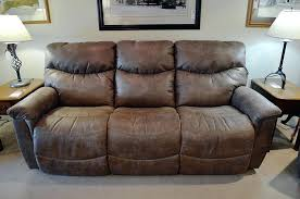 Triple Recliner Sofa by Lazy Boy Leather Power Reclining Sofa La Z Boy Leather Recliner