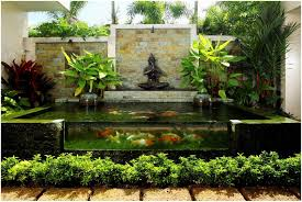 backyards fascinating backyard koi pond designs modern backyard