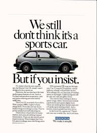 1982 honda civic gl ad vintage honda vehicle ads pinterest