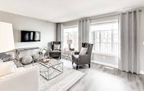 Interior Design Show Homes by Show Homes Graydon Hill Altius Townhomes Streetside