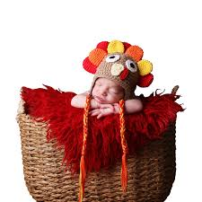 thanksgiving crafts for infants amazon com melondipity gobble gobble turkey baby hat