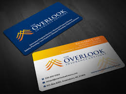Risk Control Consultant Modern Professional Business Card Design For The Overlook