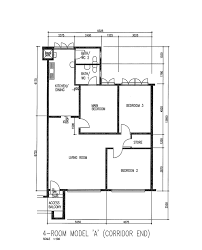 Hdb Flat Floor Plan Our Second Home 4a Resale Reno T Blog Chat Renotalk Com