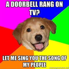 Dog Barking Meme - let me sing you the song of my people dog barking funny