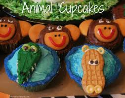 wild kratts party u2013 jungle animal cupcakes directions
