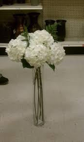 Hydrangea Centerpiece Center Piece One Stem Hydrangea Weddings Style And Decor