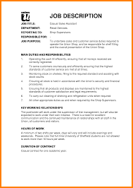 Sale Associate Job Description On Resume by Resume Sample For Retail Sales Associate Free Resume Example And