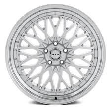rtx circuit wheels 17 x7 5 silver with machined 40 5x114 3
