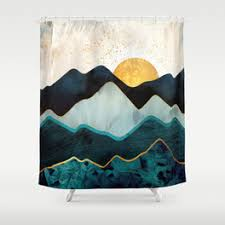 Shower Curtain Contemporary Contemporary Shower Curtains Society6