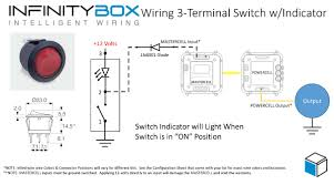 wiring a switch with an indicator u2022 infinitybox
