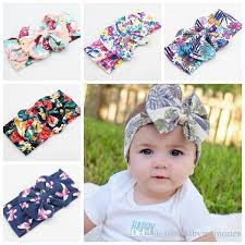wide headband baby flower wide headbands childrens christmas hair accessories