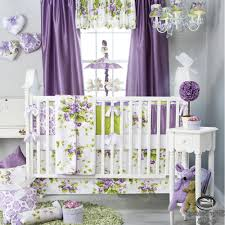 Purple Curtains For Nursery Baby Room Curtain Nursery Purple Lavender Green Babies Quilt