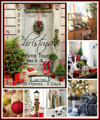 decorated homes for christmas a stroll thru life 2016 christmas home tours tuesday lineup