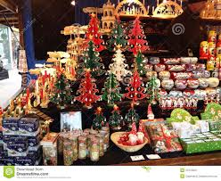 decorations for sale christmas decorations on sale in a market editorial stock photo