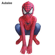 Boys Spider Halloween Costume Cheap Amazing Spiderman Costume Kids Aliexpress