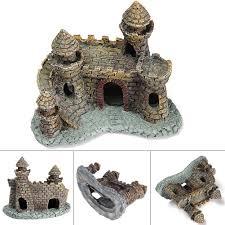 compare prices on castle aquarium decorations online shopping buy