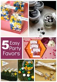 Easy Favors by Craftaholics Anonymous 5 Easy Favors Ideas