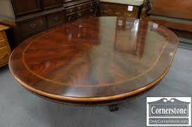 Henredon Coffee Table by Henredon Mahogany 5 U0027 Round Table With 1 Leaf