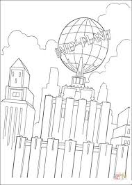 building daily planet newspaper coloring free