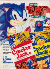 sonic the hedgehog magazine scans zone cracker jack