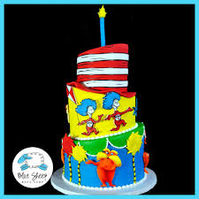dr seuss cakes dr seuss 1st birthday cake blue sheep bake shop