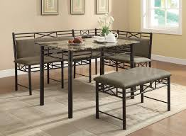 dining room table with corner bench home design ideas picture with