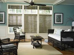 Blackout Cordless Roman Shades Bamboo Roman Shades With Privacy Liners Why I Love Bamboo Blinds