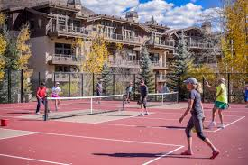 Vail Village Map New Golden Peak Pickleball Courts Now Open For Play