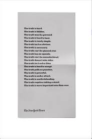 new york times report reveals truth is hard says new york times first ever oscars ad