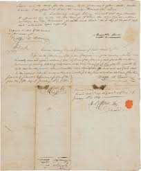 Lewis And Clark Map The History Blog Blog Archive Rare Doc Signed By Both Lewis