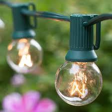 Clear Patio Lights Globe Light Size Comparison Yard Envy