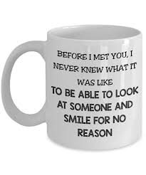 Gifts For Your Wife Wife Coffee Mug Smile For No Reason 11 U0026 15 Oz Ceramic Coffee