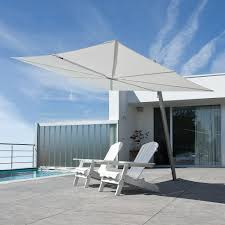 Unique Patio Umbrellas by A Cantilever Umbrella With A Flat Canopy And Unique