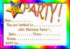 Gathering Invitation Card 18th Birthday Invitation Wording Futureclim Info