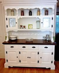 Kitchen Hutches Buffets White by Top 25 Best White Hutch Ideas On Pinterest Hutch Makeover