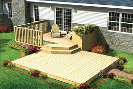 Building A Patio by Split Level Patio Deck W Planter Project Plan 90009 Ideas For