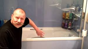 Lmi Shower Doors by How To Change The Shower Glass Seal Youtube