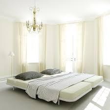 White Zen Bedroom Zen Double Bed White Camabeds
