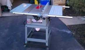 Contractor Table Saw Reviews Thoughts On Buying A Restored Rockwell Table Saw By Anthony
