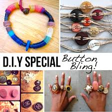 diy button earrings diy button bling diy button bracelets earrings necklaces and more