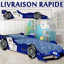 chambre f1 lit enfant voiture f1 racer bleu lit enfant garcon auto chambre
