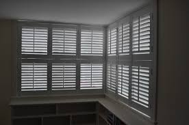 decorations corner window blinds with white blinds ideas smart