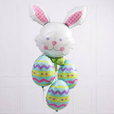 gift balloons delivered easter helium filled balloons in a box gift easter eggs with