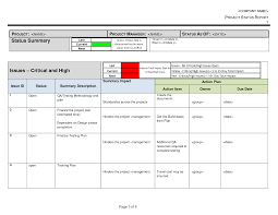 Project Report Template Excel 28 Financial Status Report Template Annual Report Template