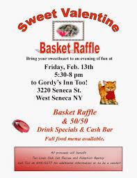 valentine raffle tickets ten lives club cat adoption group february 2015