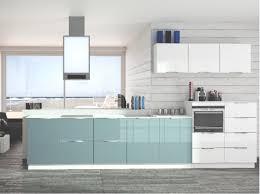 cuisine bleue et blanche cuisine bleue et blanche decoration cuisine bleue superbe deco