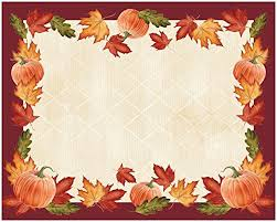 thanksgiving paper placemats thanksgiving wikii