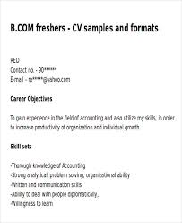 Sample Resume Job Objectives by 6 Example Resume Objective Free Sample Example Format Download