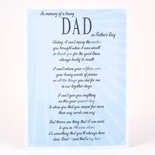 father u0027s day card in memory of a loving dad card factory