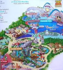 map of california adventure 13 june 2010 adventures of a disney fan